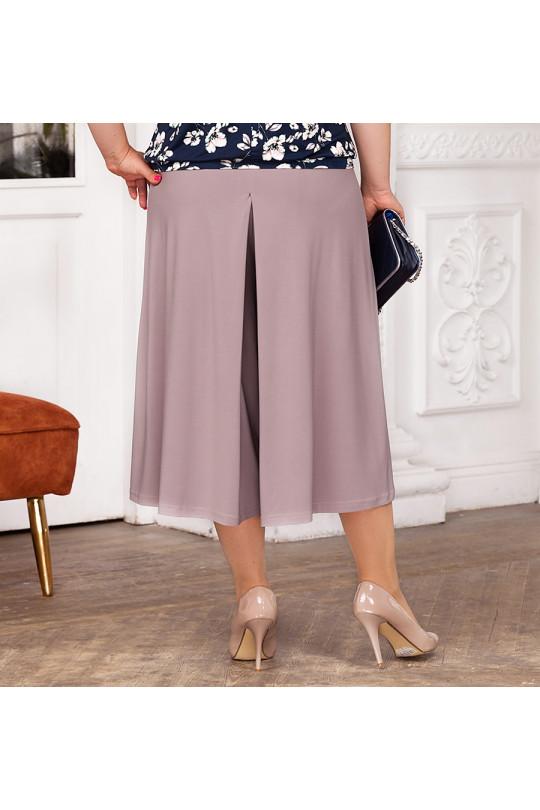 Летняя юбка-брюки Бежевый Арт. 1308