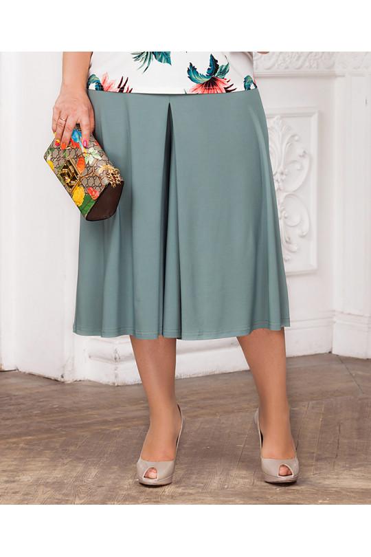 Летняя юбка-брюки Ментол Арт. 1328