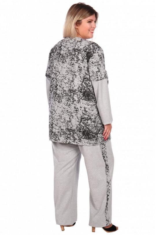 Серый женский спортивный костюм Арт. 1164