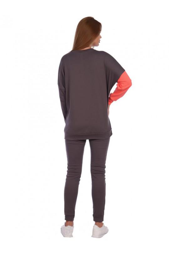 Женский спортивный костюм на полную фигуру Арт. 1170