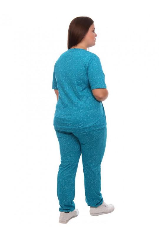 Голубой женский спортивный костюм Арт. 1173