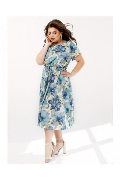 Летнее платье нежный цветок Арт. 1353