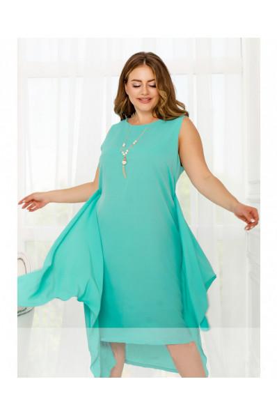 Нарядное платье трансформер Ментол Арт. 1357