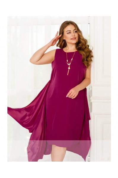 Нарядное платье трансформер Фуксия Арт. 1359