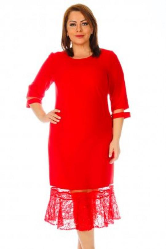 Красное платье годе. Турция Арт. 619