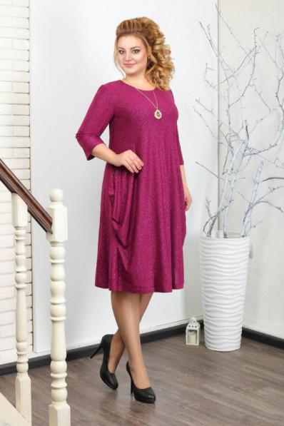 """Нарядное платье в стиле """"бохо"""" Малина Арт. 926"""