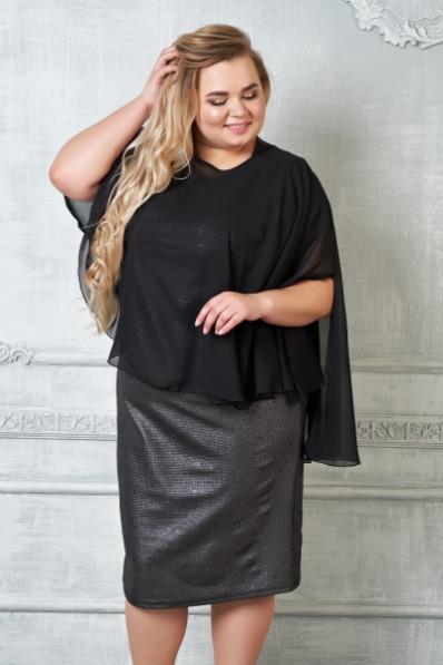 Коктейльное платье большого размера Арт. 940