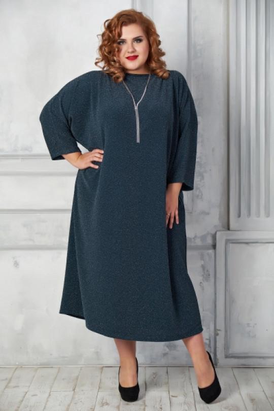 Нарядное платья свободного кроя  Арт. 1070