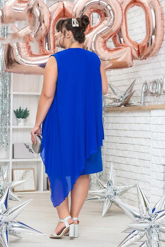 Нарядное платье с шифоновой накидкой  Арт. 1183