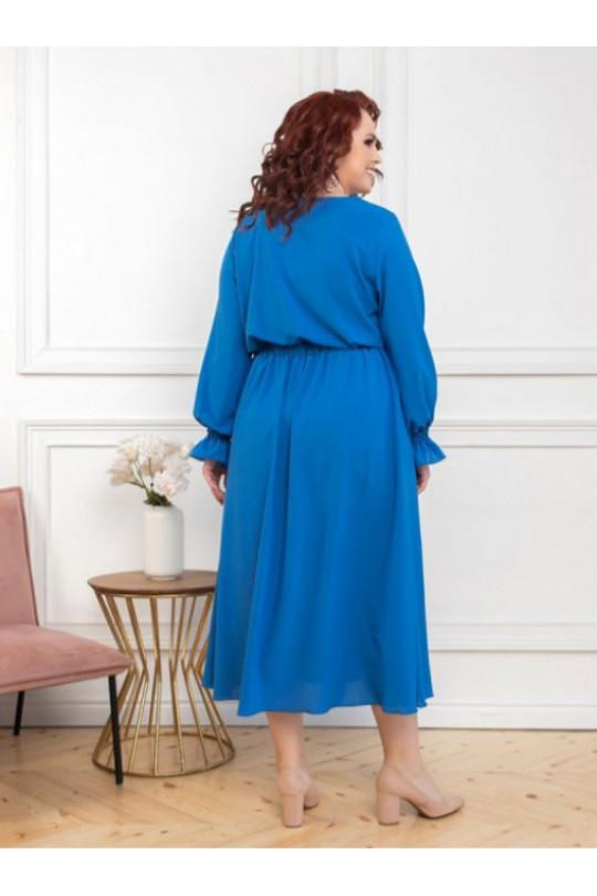 Нарядное платье небесно синего цвета  Арт. 1263
