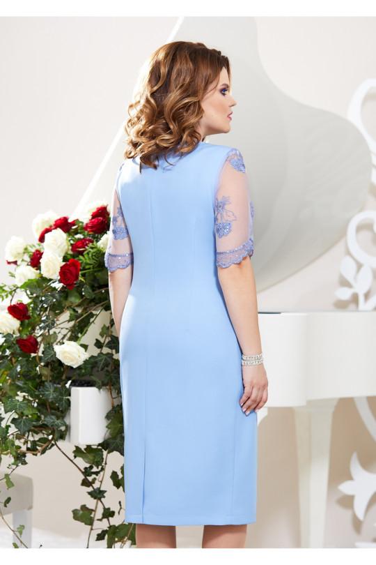 Нарядное платье большого размера Арт. 1363