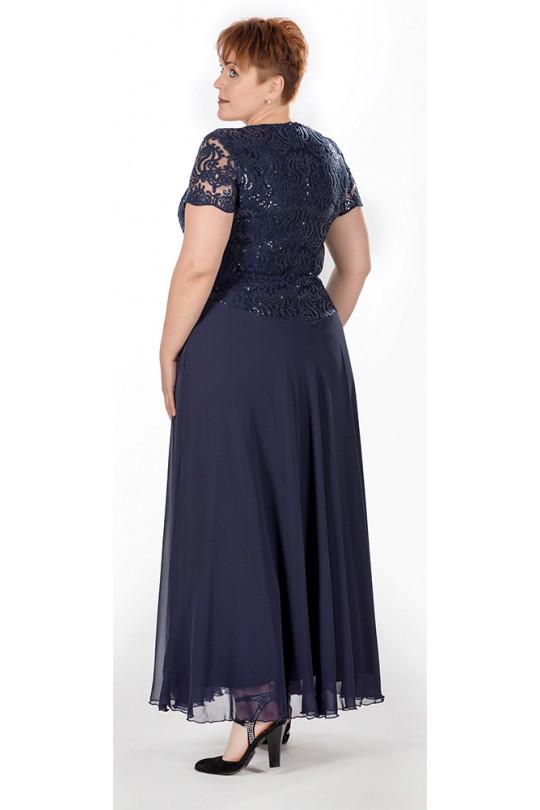 Вечернее платье в пол Цвет синий Арт. 792
