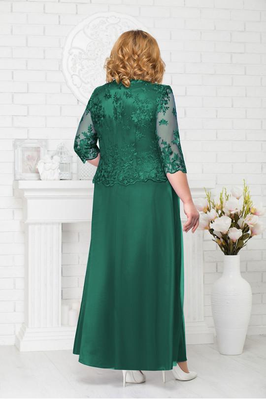 Изумрудное вечернее платье Арт. 950