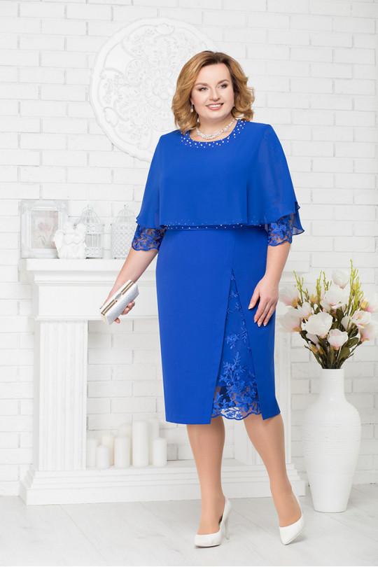 48f18177bf7 Коктейльное платье большого размера Арт. 951 ...