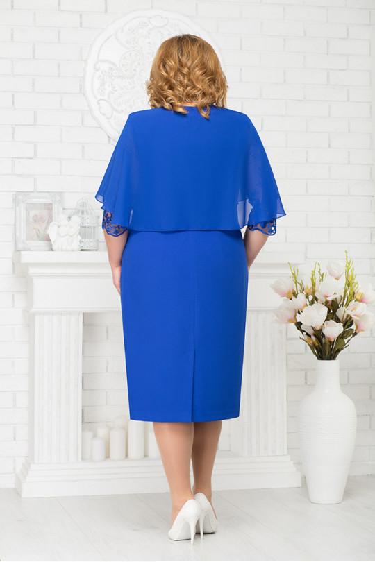 Коктейльное платье большого размера  Арт. 951