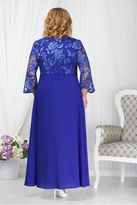Вечернее платье из шифона большого размера Арт. 954