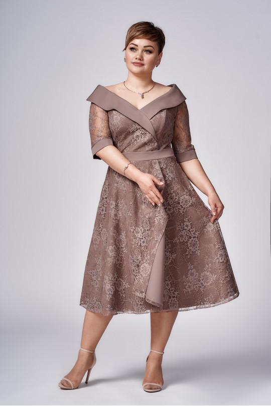 Коктейльное платье в ретро стиле Арт. 1278