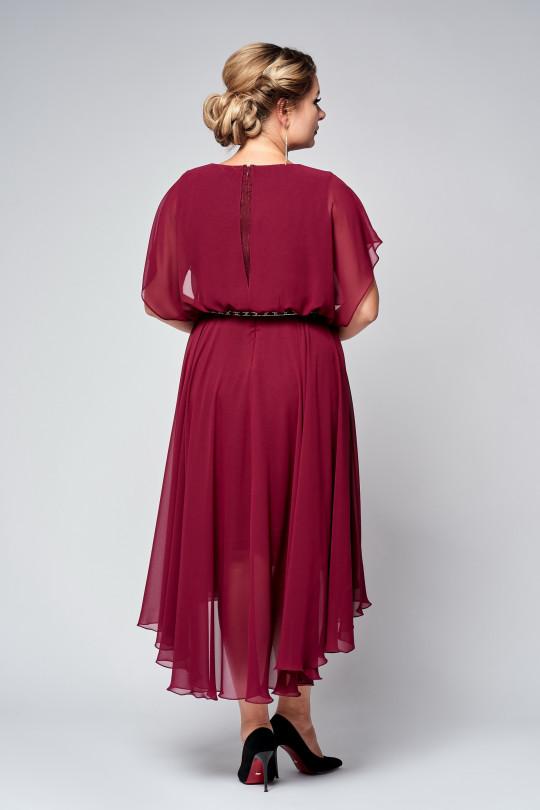 Нарядное платье в греческом стиле Марсала Арт. 1279