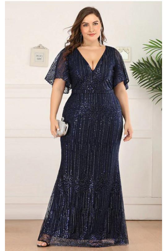 Вечернее платье в пол Цвет Синий Арт. 1291