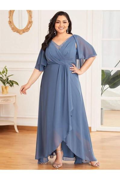 Вечернее платье с V- образным вырезом Арт. 1334