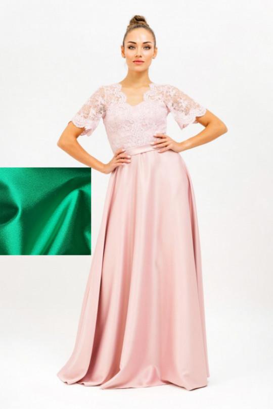 Вечернее платье в пол Цвет Зеленый Арт. 1373