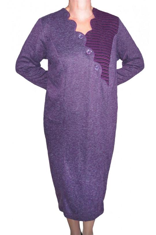Повседневное платье большого размера Арт. 660