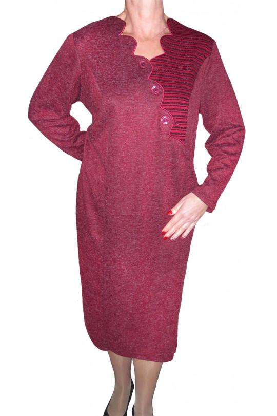 83fe2dd9509 Дизайнерское платье большого размера Арт. 672 купить в России