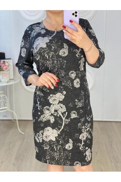Повседневное платье большого размера  Арт. 1239